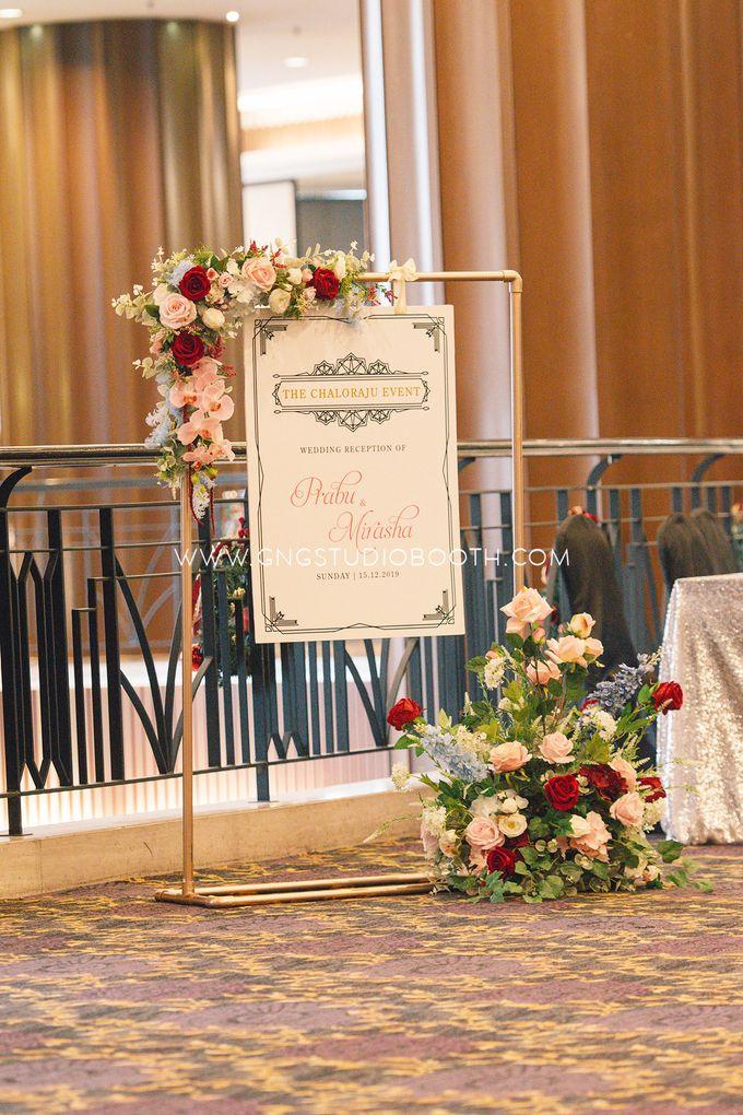 Wedding at The Majestic Hotel Kuala Lumpur - Prabu & Mirasha by Glitz&Glam Studiobooth - 015