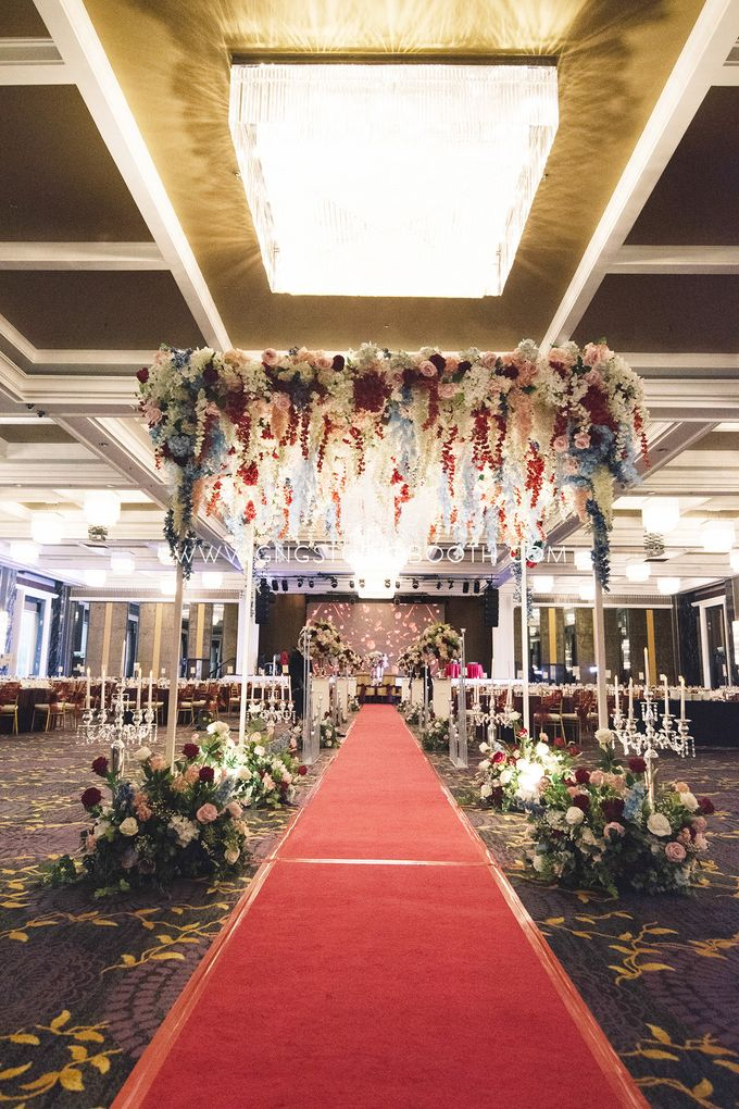 Wedding at The Majestic Hotel Kuala Lumpur - Prabu & Mirasha by Glitz&Glam Studiobooth - 002