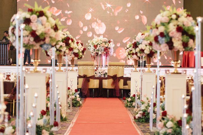 Wedding at The Majestic Hotel Kuala Lumpur - Prabu & Mirasha by Glitz&Glam Studiobooth - 021