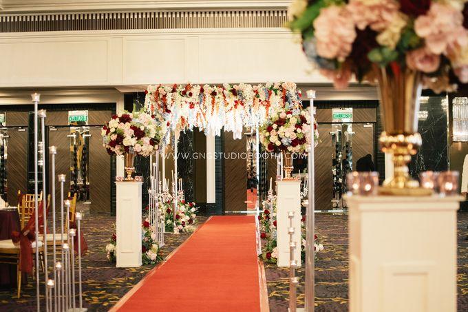 Wedding at The Majestic Hotel Kuala Lumpur - Prabu & Mirasha by Glitz&Glam Studiobooth - 023