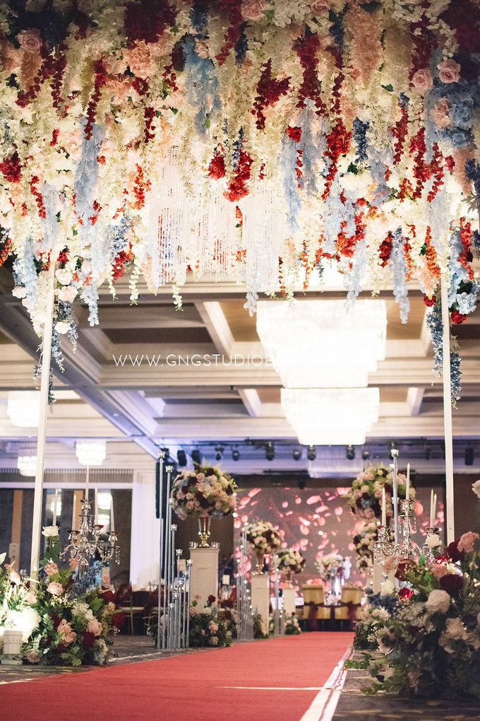 Wedding at The Majestic Hotel Kuala Lumpur - Prabu & Mirasha by Glitz&Glam Studiobooth - 027