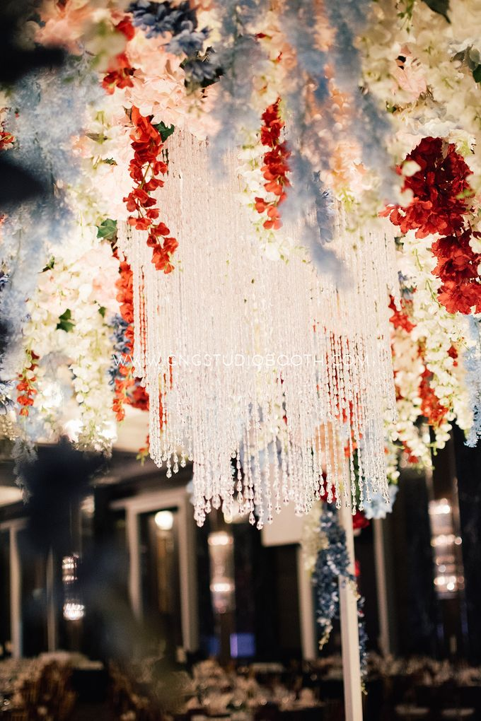 Wedding at The Majestic Hotel Kuala Lumpur - Prabu & Mirasha by Glitz&Glam Studiobooth - 028