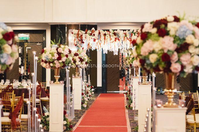 Wedding at The Majestic Hotel Kuala Lumpur - Prabu & Mirasha by Glitz&Glam Studiobooth - 029
