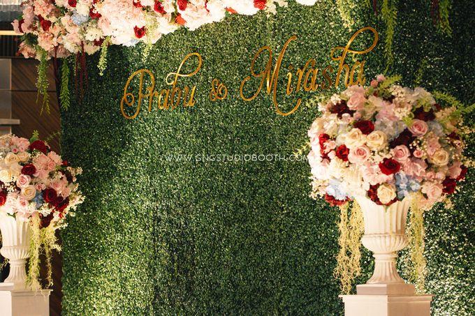 Wedding at The Majestic Hotel Kuala Lumpur - Prabu & Mirasha by Glitz&Glam Studiobooth - 030