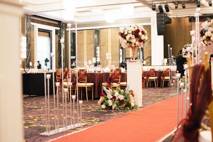 Wedding at The Majestic Hotel Kuala Lumpur - Prabu & Mirasha by Glitz&Glam Studiobooth - 031