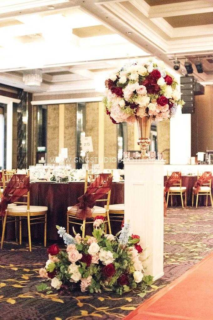 Wedding at The Majestic Hotel Kuala Lumpur - Prabu & Mirasha by Glitz&Glam Studiobooth - 032