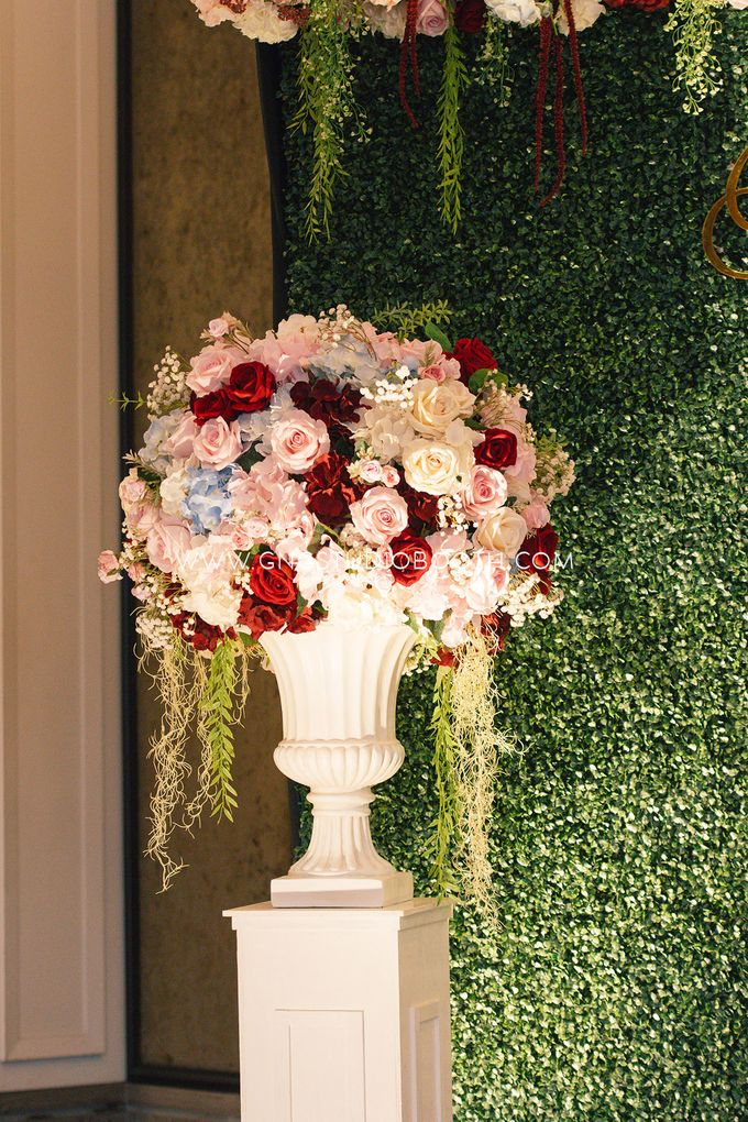 Wedding at The Majestic Hotel Kuala Lumpur - Prabu & Mirasha by Glitz&Glam Studiobooth - 004