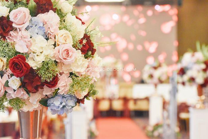 Wedding at The Majestic Hotel Kuala Lumpur - Prabu & Mirasha by Glitz&Glam Studiobooth - 005