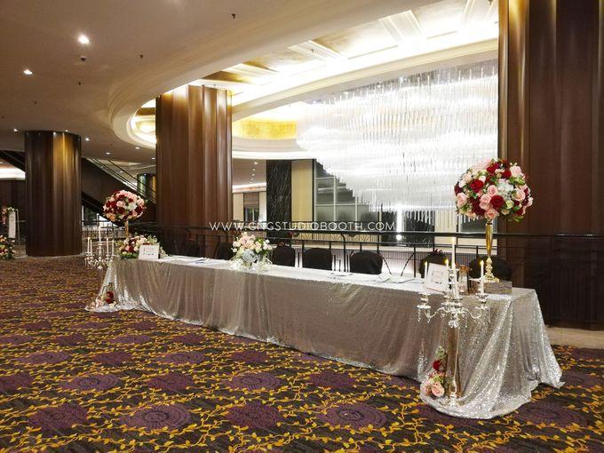 Wedding at The Majestic Hotel Kuala Lumpur - Prabu & Mirasha by Glitz&Glam Studiobooth - 006