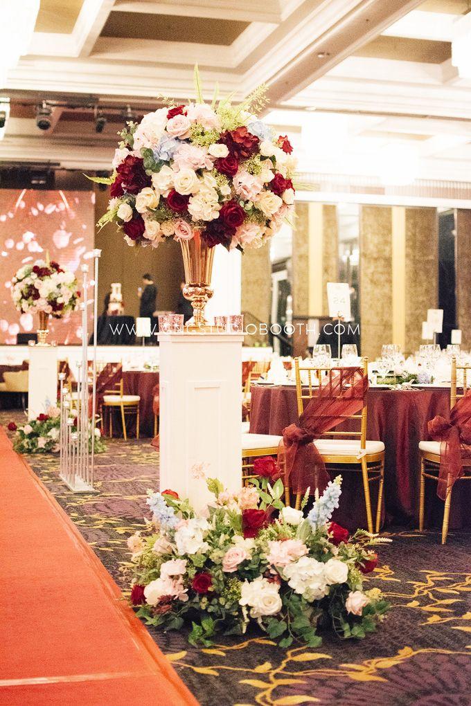 Wedding at The Majestic Hotel Kuala Lumpur - Prabu & Mirasha by Glitz&Glam Studiobooth - 007