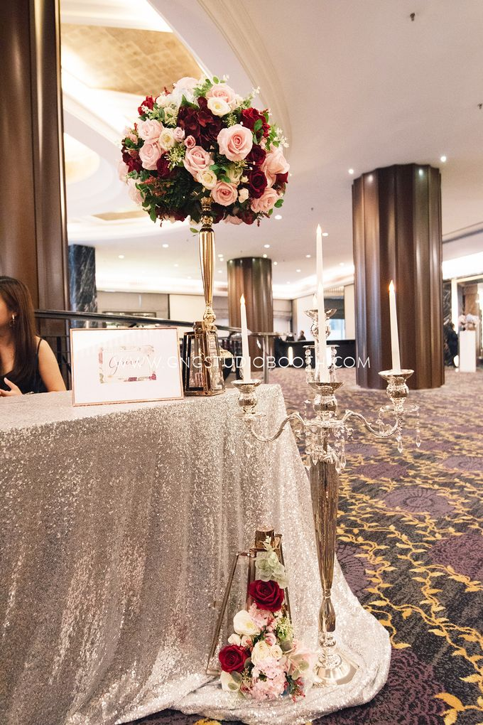 Wedding at The Majestic Hotel Kuala Lumpur - Prabu & Mirasha by Glitz&Glam Studiobooth - 008