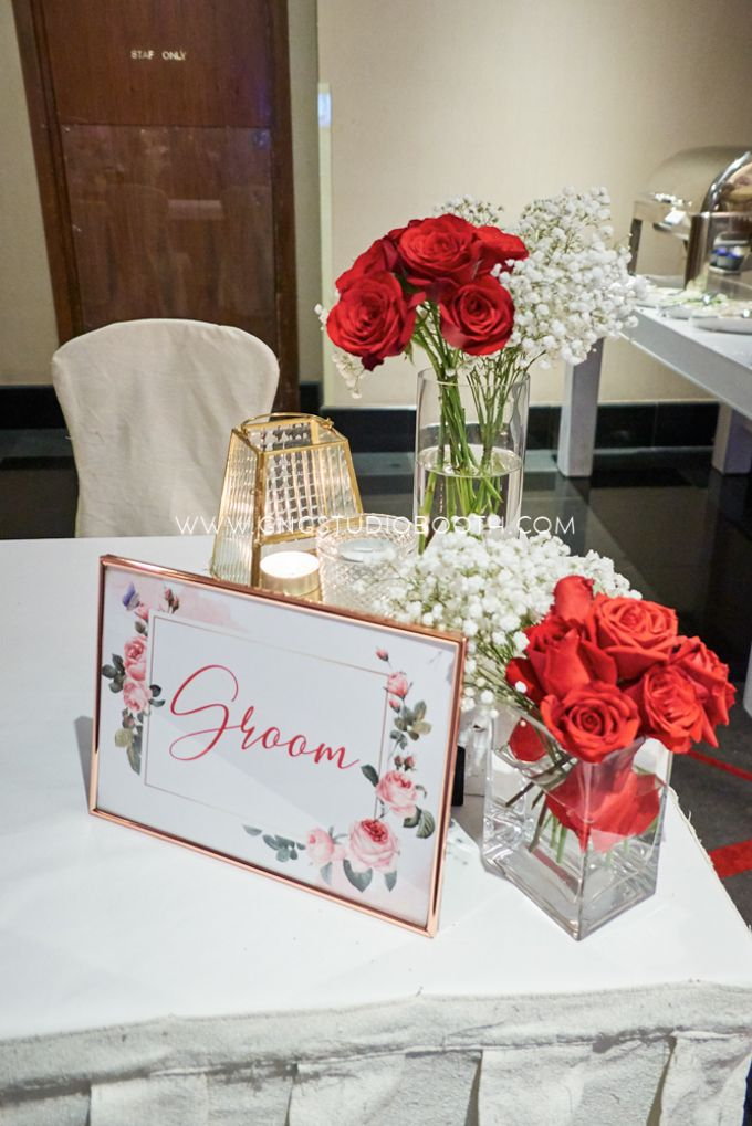 Bright Red & Crispy White Reception - Daniel & Cordelia by Glitz&Glam Studiobooth - 017