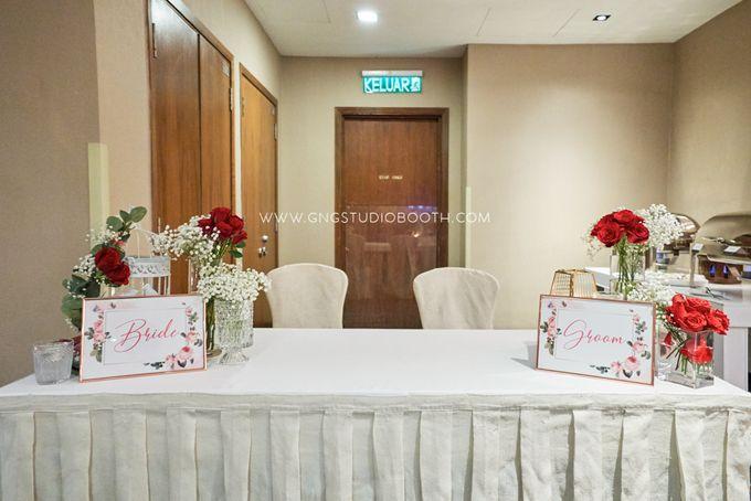 Bright Red & Crispy White Reception - Daniel & Cordelia by Glitz&Glam Studiobooth - 016