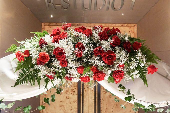Bright Red & Crispy White Reception - Daniel & Cordelia by Glitz&Glam Studiobooth - 010