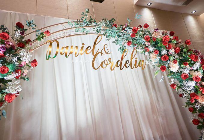 Bright Red & Crispy White Reception - Daniel & Cordelia by Glitz&Glam Studiobooth - 005