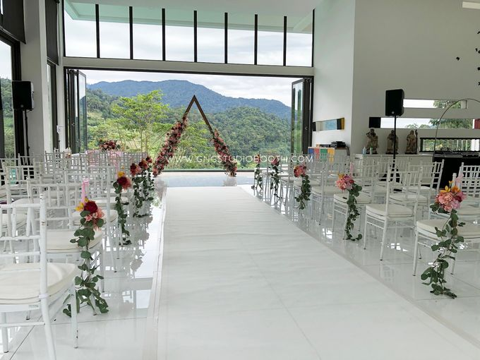 Wedding at Genting Sempah Summer Residence - Phw & Fion by Glitz&Glam Studiobooth - 008