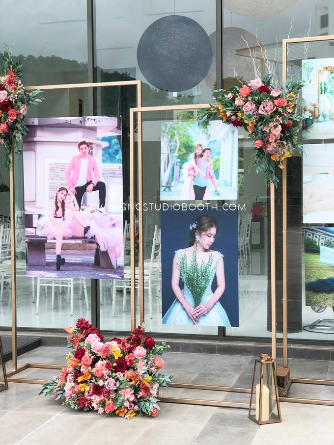 Wedding at Genting Sempah Summer Residence - Phw & Fion by Glitz&Glam Studiobooth - 019