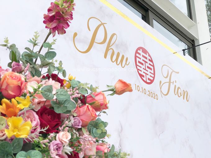 Wedding at Genting Sempah Summer Residence - Phw & Fion by Glitz&Glam Studiobooth - 023