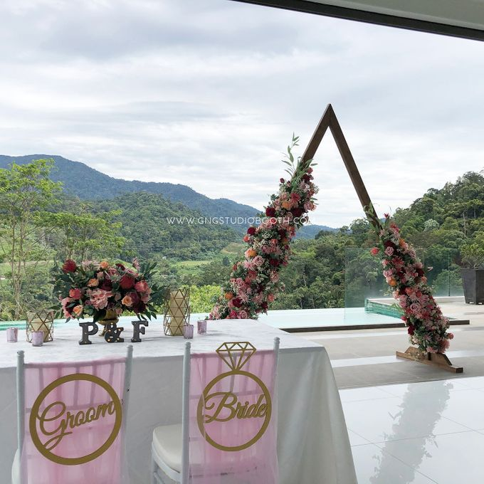 Wedding at Genting Sempah Summer Residence - Phw & Fion by Glitz&Glam Studiobooth - 009