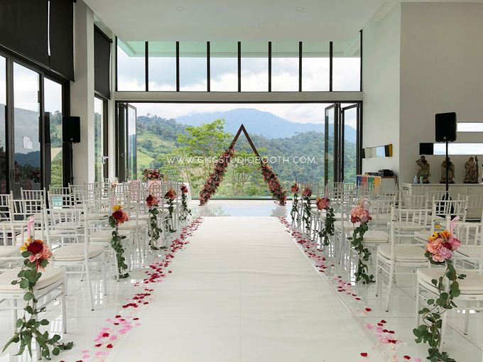 Wedding at Genting Sempah Summer Residence - Phw & Fion by Glitz&Glam Studiobooth - 014