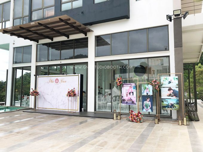 Wedding at Genting Sempah Summer Residence - Phw & Fion by Glitz&Glam Studiobooth - 017