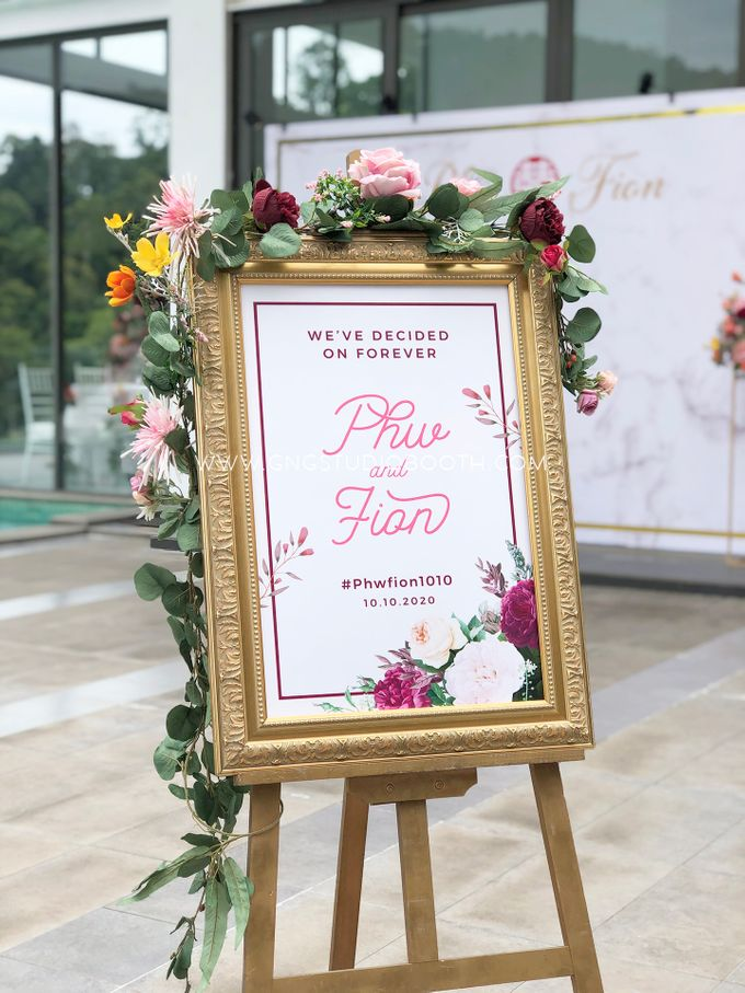 Wedding at Genting Sempah Summer Residence - Phw & Fion by Glitz&Glam Studiobooth - 006