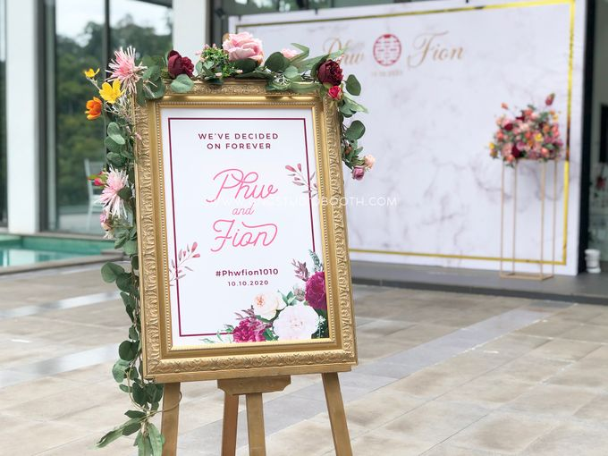 Wedding at Genting Sempah Summer Residence - Phw & Fion by Glitz&Glam Studiobooth - 005