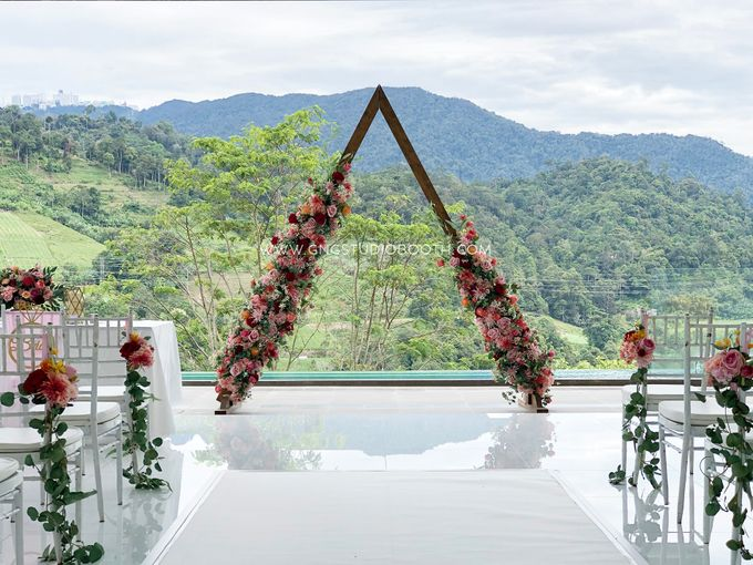 Wedding at Genting Sempah Summer Residence - Phw & Fion by Glitz&Glam Studiobooth - 001