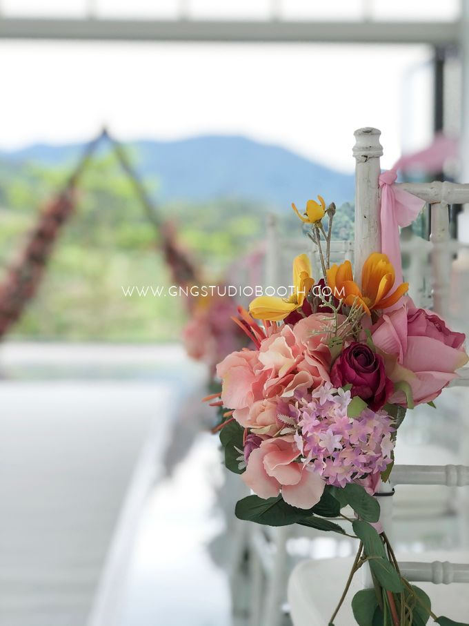 Wedding at Genting Sempah Summer Residence - Phw & Fion by Glitz&Glam Studiobooth - 016
