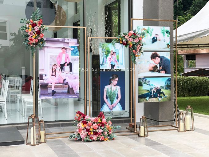 Wedding at Genting Sempah Summer Residence - Phw & Fion by Glitz&Glam Studiobooth - 018