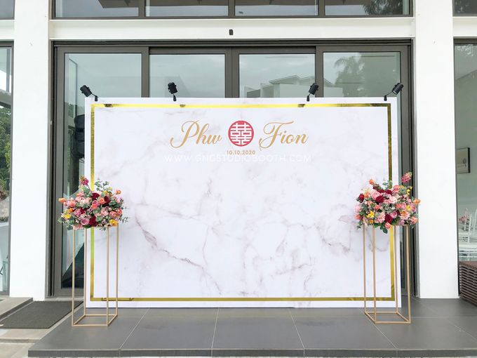 Wedding at Genting Sempah Summer Residence - Phw & Fion by Glitz&Glam Studiobooth - 021