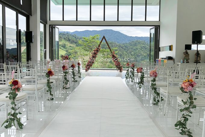Wedding at Genting Sempah Summer Residence - Phw & Fion by Glitz&Glam Studiobooth - 002