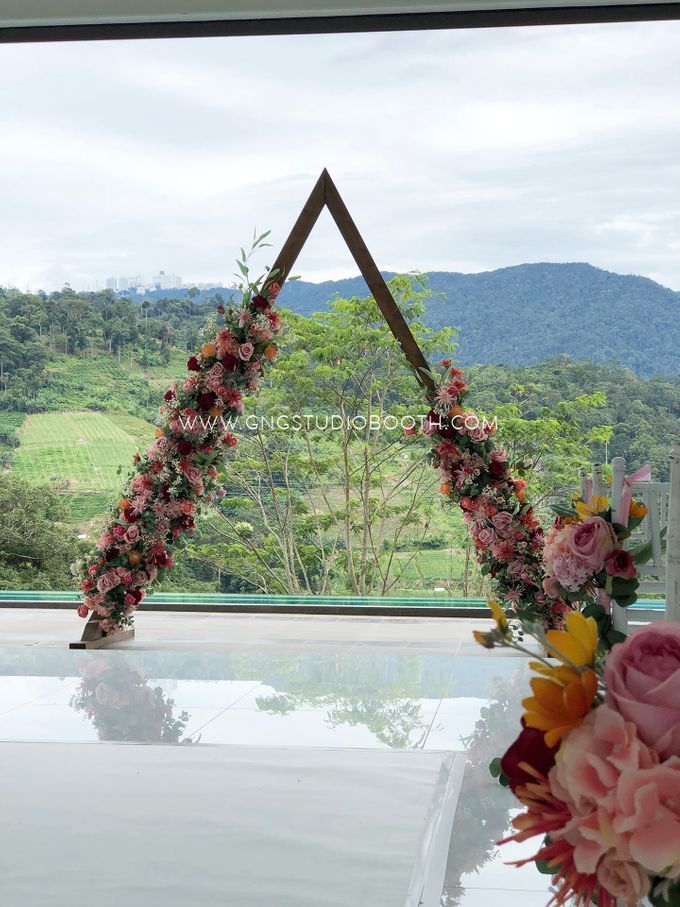 Wedding at Genting Sempah Summer Residence - Phw & Fion by Glitz&Glam Studiobooth - 012