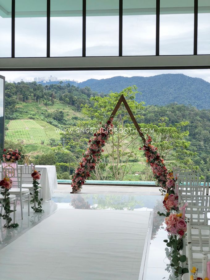 Wedding at Genting Sempah Summer Residence - Phw & Fion by Glitz&Glam Studiobooth - 004