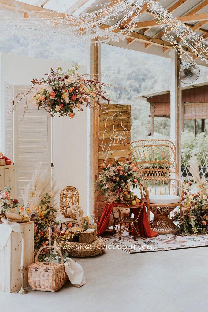 Wedding at Genting Sempah T-Farm - Wedding Style Shoot by Glitz&Glam Studiobooth - 014