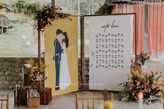 Wedding at Genting Sempah T-Farm - Wedding Style Shoot by Glitz&Glam Studiobooth - 019