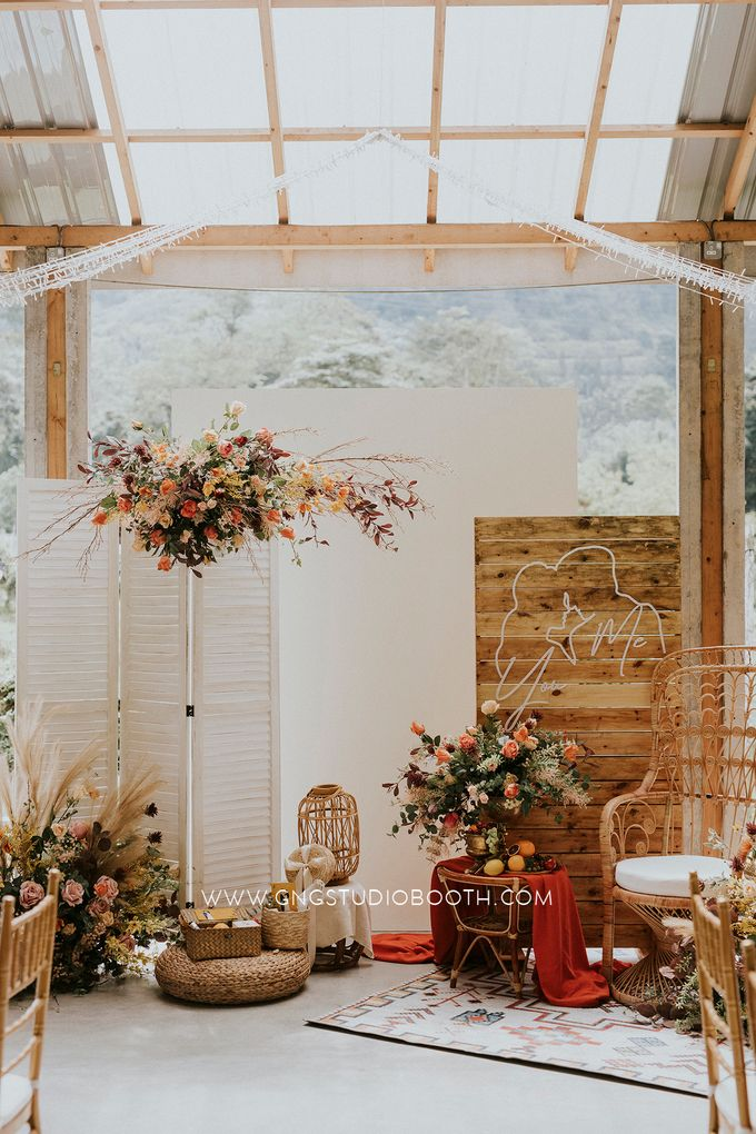 Wedding at Genting Sempah T-Farm - Wedding Style Shoot by Glitz&Glam Studiobooth - 025