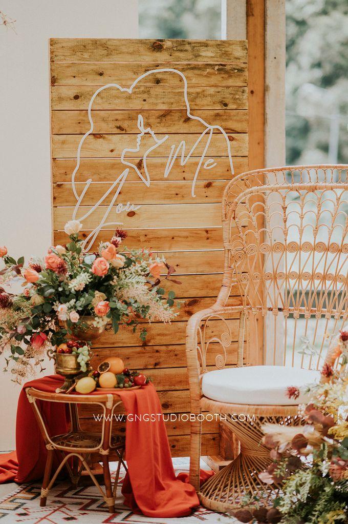 Wedding at Genting Sempah T-Farm - Wedding Style Shoot by Glitz&Glam Studiobooth - 009