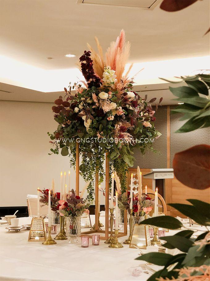 Wedding at Concorde Hotel Kuala Lumpur - Benjamin & Joan by Glitz&Glam Studiobooth - 001