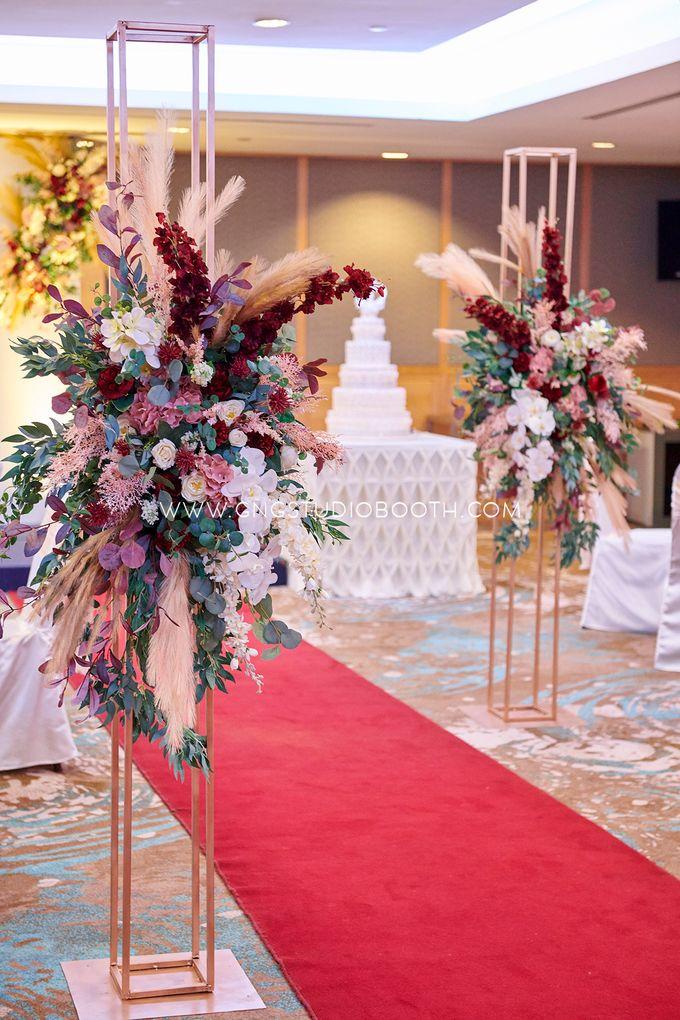 Wedding at Concorde Hotel Kuala Lumpur - Benjamin & Joan by Glitz&Glam Studiobooth - 005