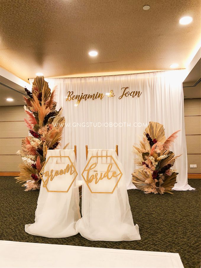 Wedding at Concorde Hotel Kuala Lumpur - Benjamin & Joan by Glitz&Glam Studiobooth - 015