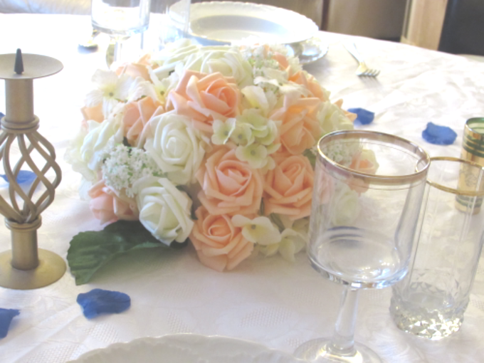 Create A Simple Centerpiece With A Small Budget by Kamy Wedding - 001