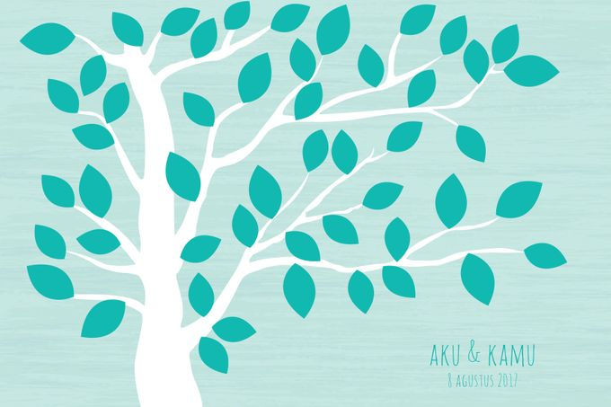 Canvas Guestbook Wedding Artwork ( Tree-01) by Bikinseru.aja - 007