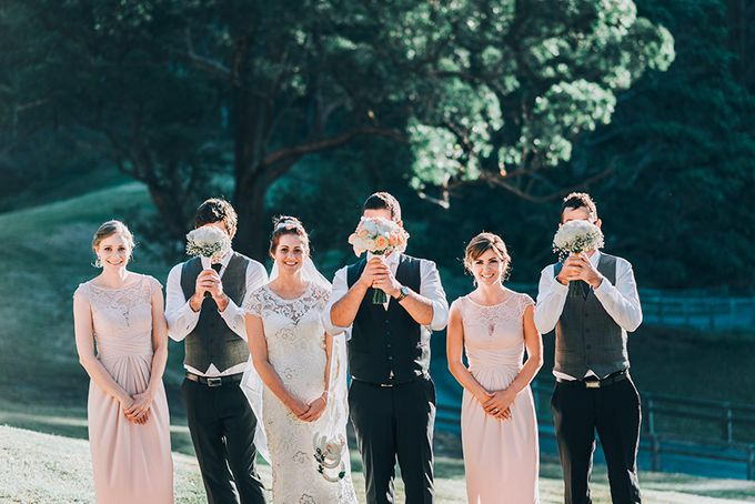 Carly & Adam | Peppers Ruffles Lodge Wedding by Andrew Sun Photography - 019