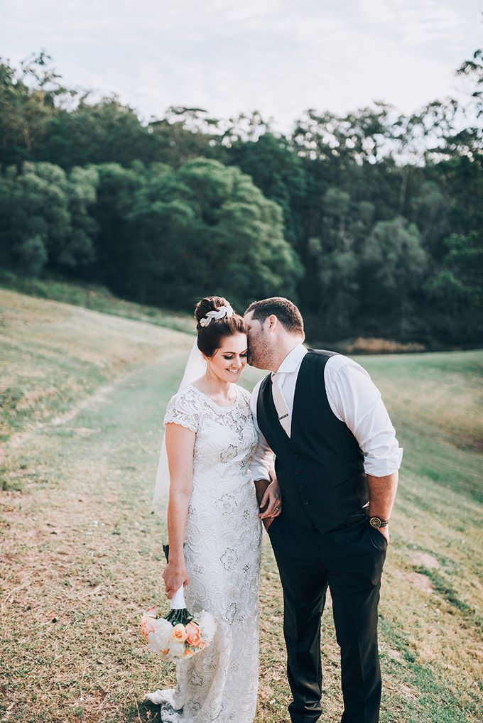 Carly & Adam | Peppers Ruffles Lodge Wedding by Andrew Sun Photography - 026