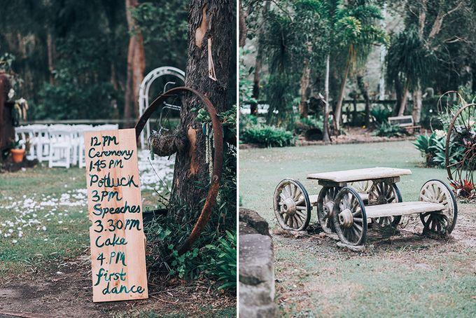 Sarah & Alfred | Terri's Rustic Farm Wedding by Andrew Sun Photography - 003