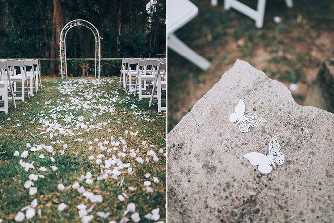 Sarah & Alfred | Terri's Rustic Farm Wedding by Andrew Sun Photography - 004