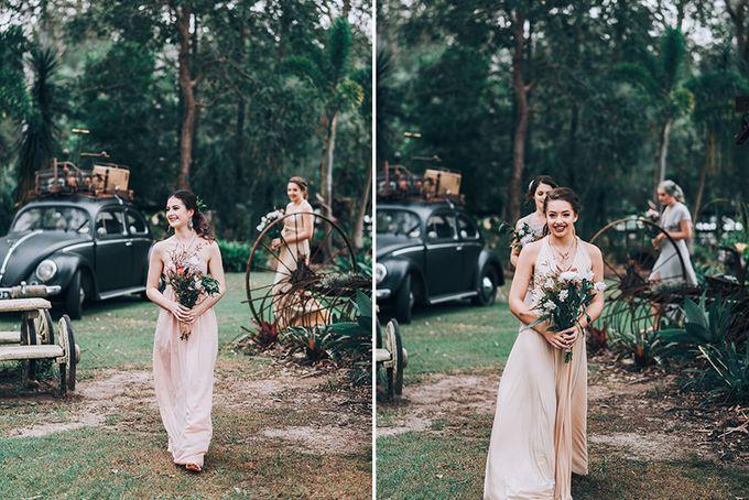 Sarah & Alfred | Terri's Rustic Farm Wedding by Andrew Sun Photography - 008
