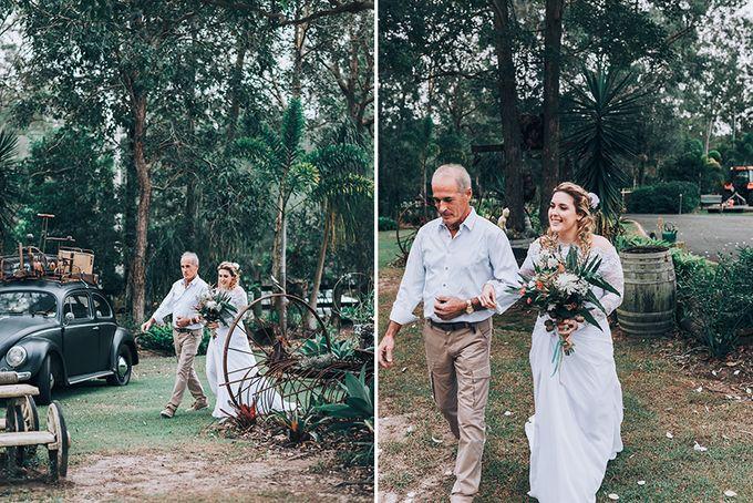Sarah & Alfred | Terri's Rustic Farm Wedding by Andrew Sun Photography - 009