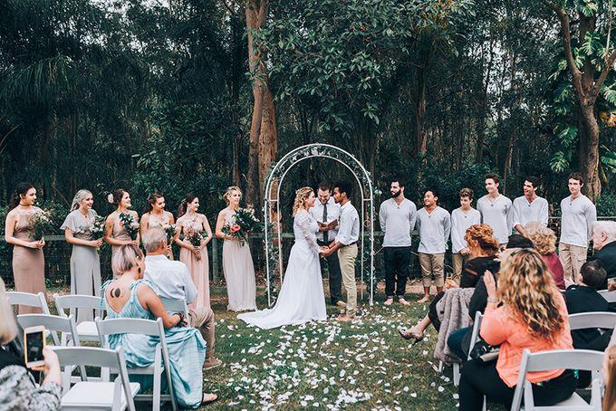 Sarah & Alfred | Terri's Rustic Farm Wedding by Andrew Sun Photography - 011